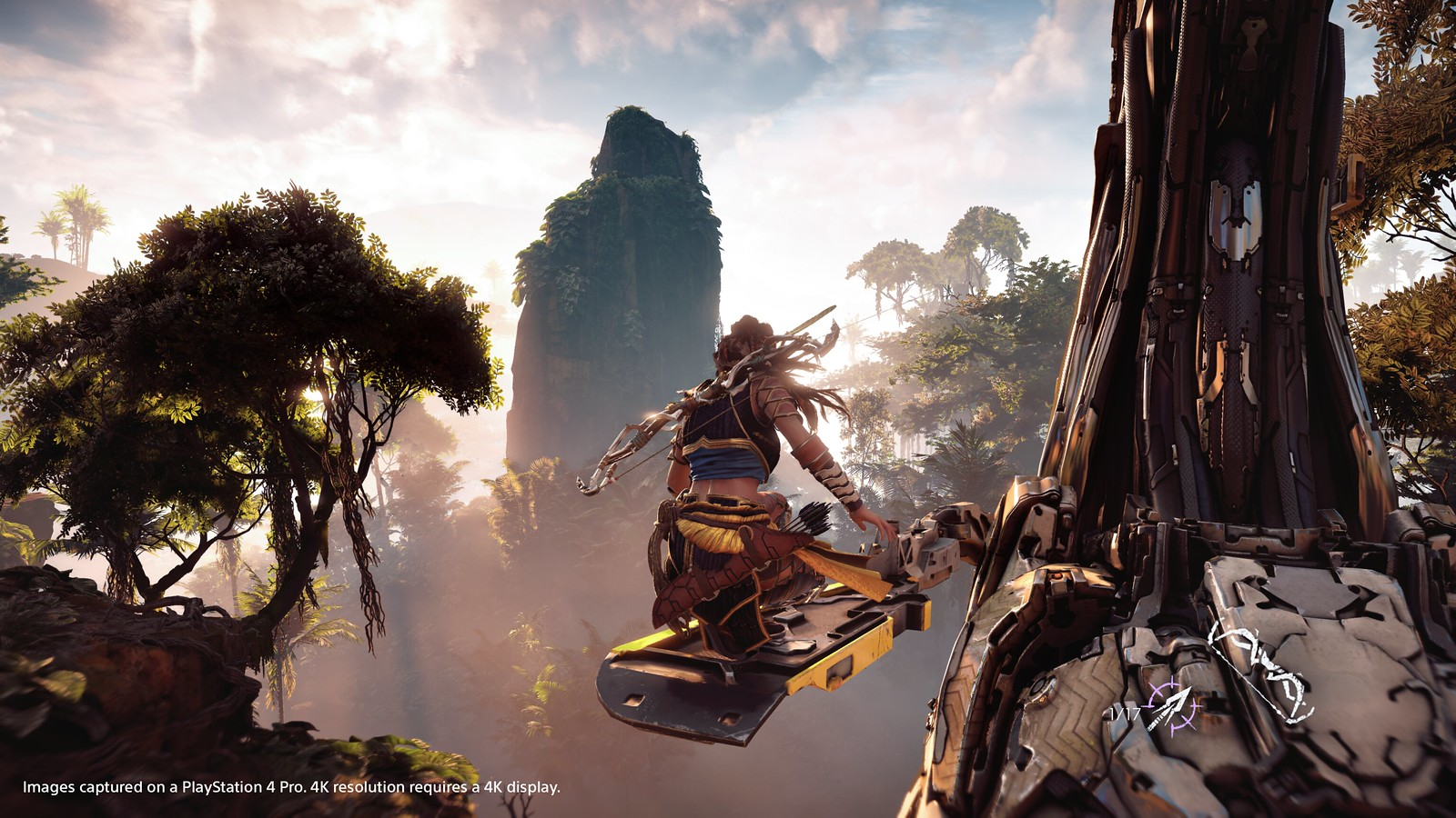 Horizon: Zero Dawn en PS4 Pro