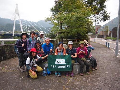 A&Fカントリー関東野外イベント「西丹沢権現山とミツバ岳 破線ルートコンパスハイク」