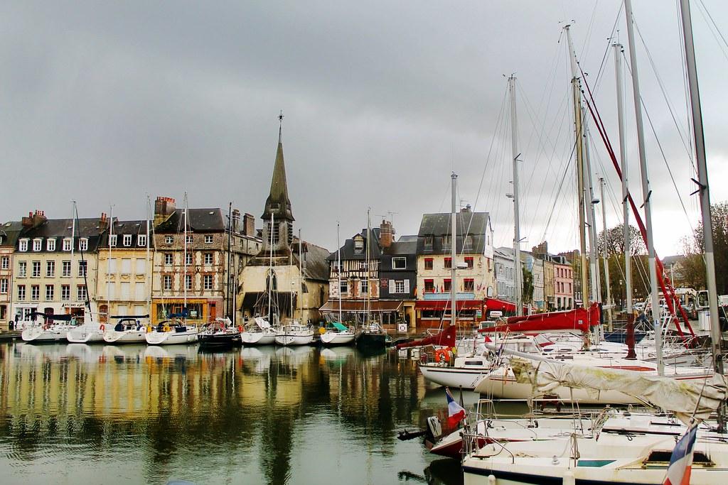 Drawing Dreaming - guia de visita de Honfleur, Normandia - Vieux Bassin