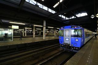 札幌駅 キハ183系 北斗3号到着