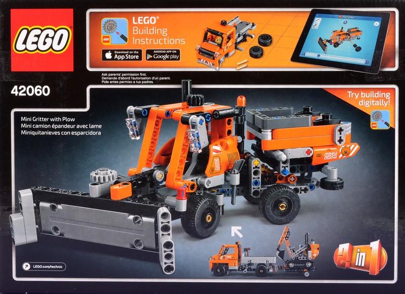 LEGO 42060 Technic Roadwork Crew Construction Toy Building
