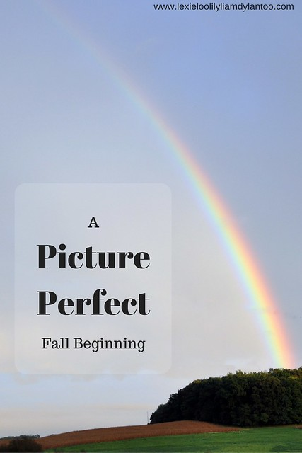 A Picture Perfect Fall Beginning