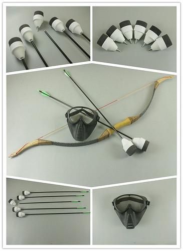 Bogen und Pfeile Set für Archery Bogenschießen Tag LARP