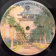 CANDI STATON:YOUNG HEARTS RUN FREE(LABEL SIDE-B)