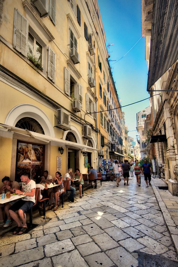Street in Corfu