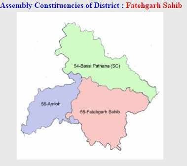 Fatehgarh Sahib district Punjab Election 2017