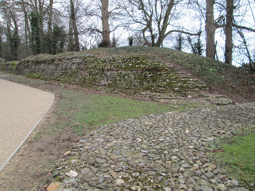 Roman City Walls Path Forest