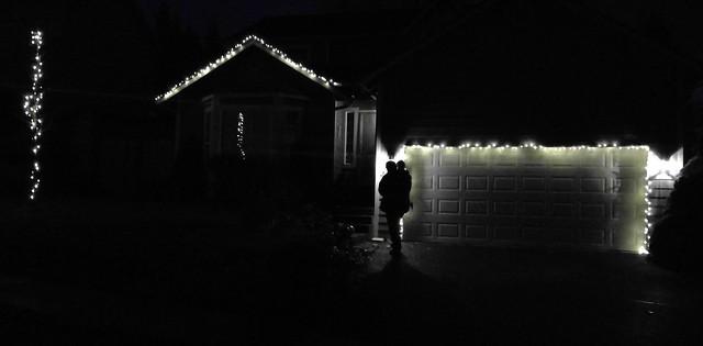Christmas Light Portrait