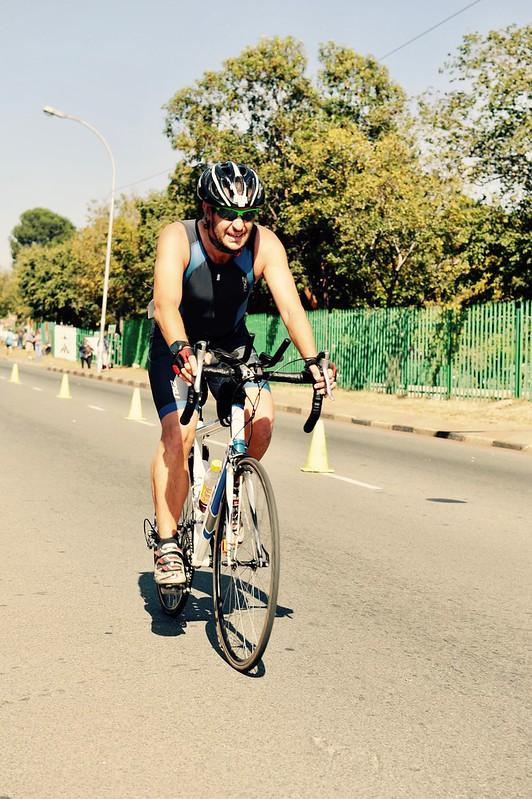 Trinity Sports Event 1 - On the bike