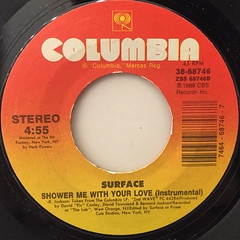 SURFACE:SHOWER ME WITH YOUR LOVE(LABEL SIDE-B)