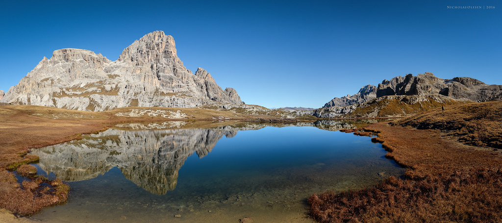 Dolomites - Laghi di Piani Reflection