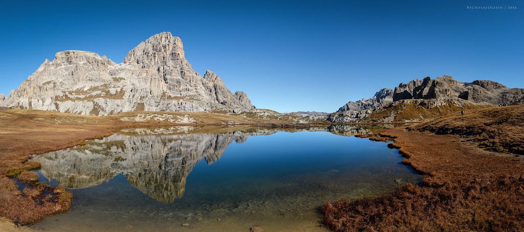 Dolomites - Laghi di Piani Reflection