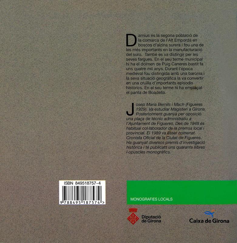 Darnius, Quaderns de la Revista de Girona 2