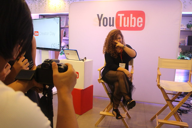 Youtube Creator Day Blogger Youtuber Digital Lifestyle Duane Bacon Rose Curly
