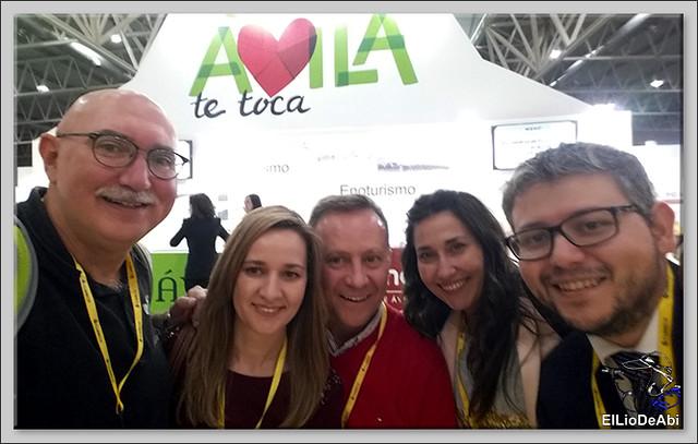 Castilla y León Travel Bloggers se presenta en Intur 2016 (10)