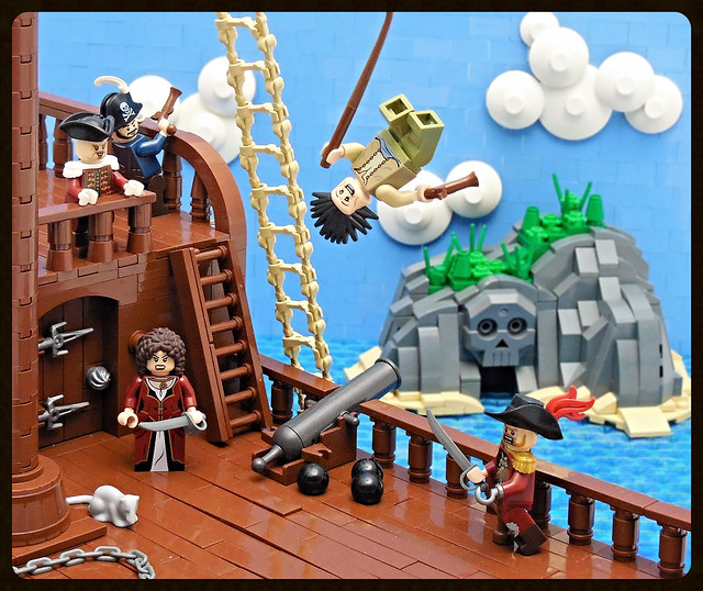 Jolly Shenanigans At Pirate Cove The Brothers Brick
