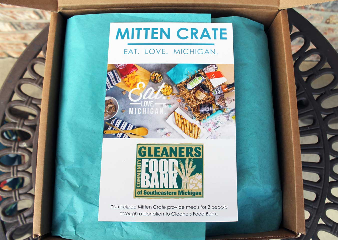 Michigan-Made Gift Idea: Mitten Crate Subscription Box - [via Wading in Big Shoes]