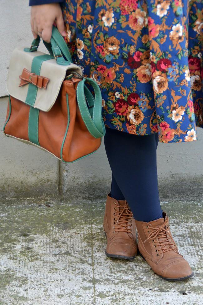 Outfit blu e floreale (7)