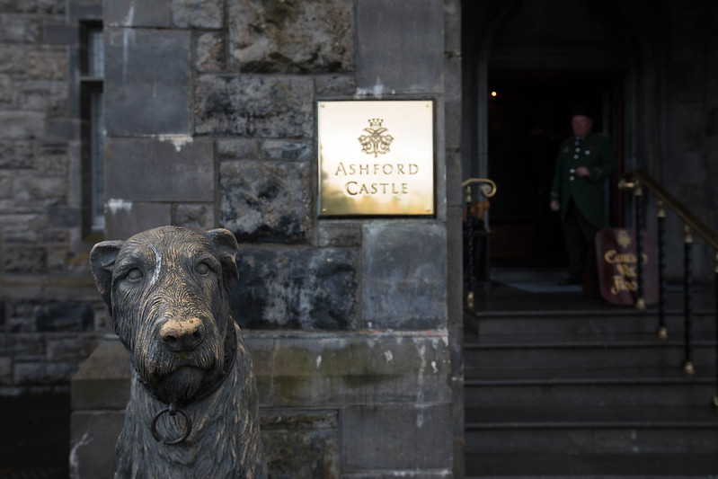 Ashford Castle entrance