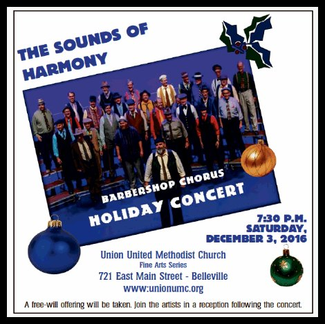 Sounds Of Harmony 12-3-16