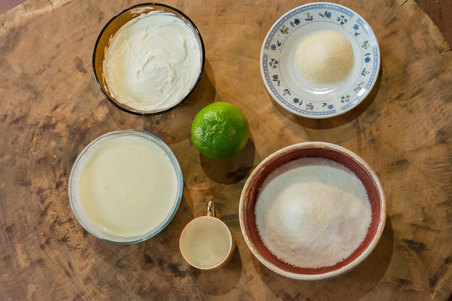Ingredientes - torta
