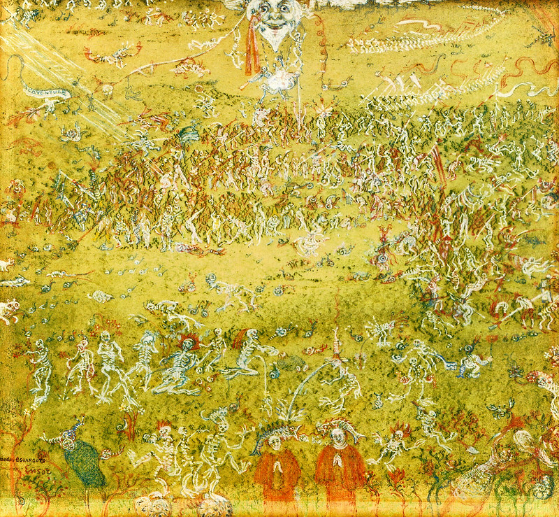 James Ensor - The War of Snails, 1911