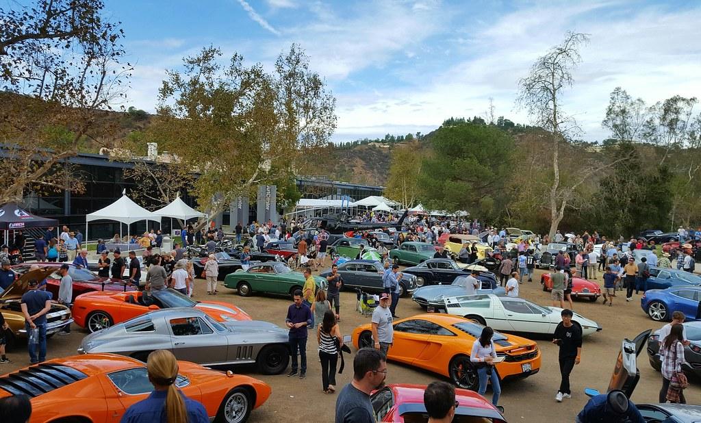 Art Center College Of Design Car Show Classic Motorsports