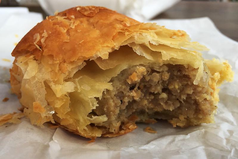 Sausage roll, Gumnut Patisserie