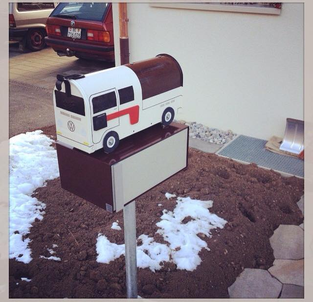 Custom Double Cab Mailbox by TheBusBox