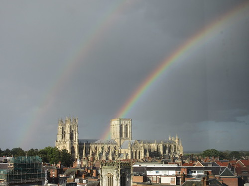 Rainbow Over York