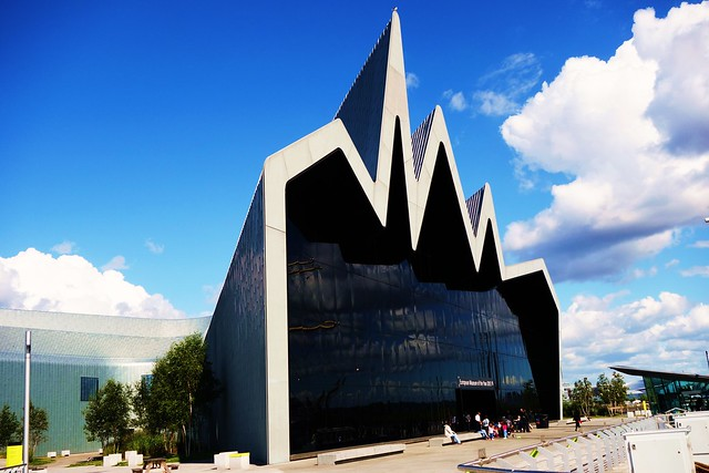 Riverside Museum, Glasgow, Scotland.