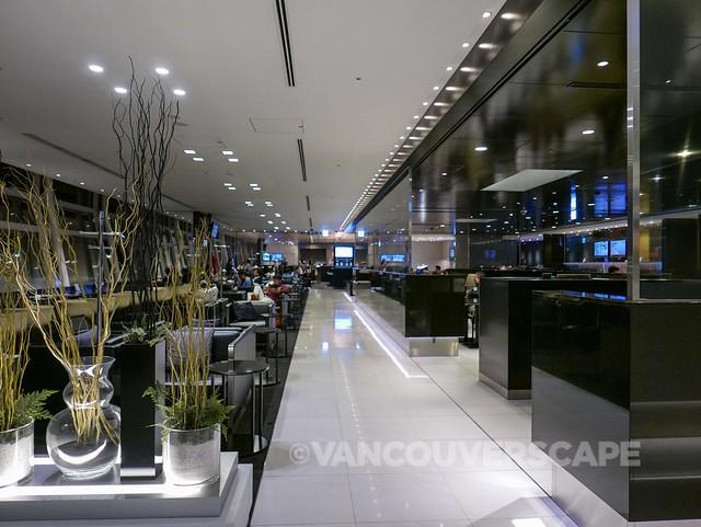 ANA Premium Economy-Haneda Lounge-17