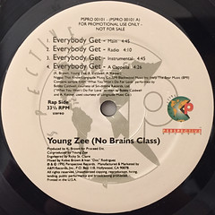 YOUNG ZEE:EVERYBODY GET(LABEL SIDE-A)
