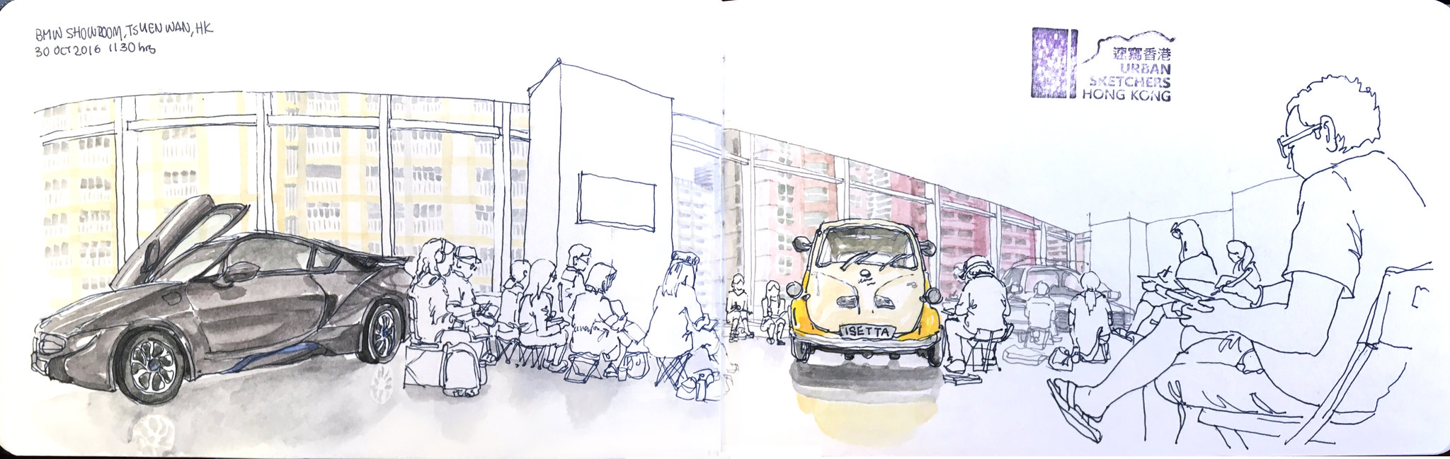 A Short HongKong Getaway | Urban Sketchers