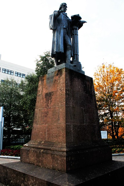Witherspoon Statue, Paisley, Scotland
