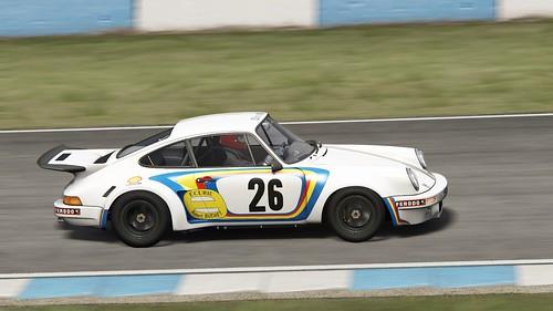 Porsche 911 RSR - Ecurie Robert Buchet - Wollek  - Ballot-Lena - Dijon 1975 (2)