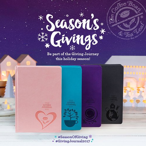 Giving Journal 2017 | Season Of Giving | CBTL PH