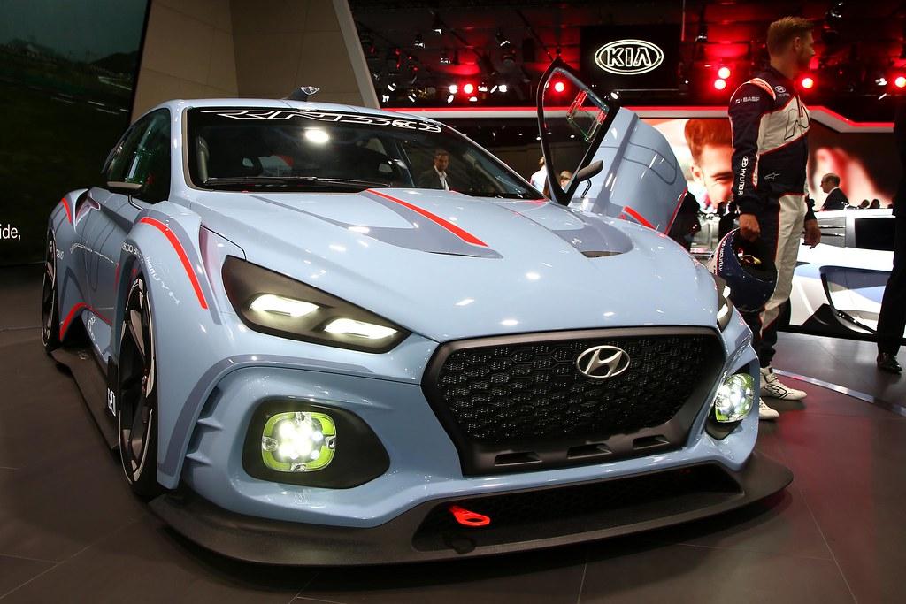 Hyundai RN30 Concept live photos: 2016 Paris Motor Show