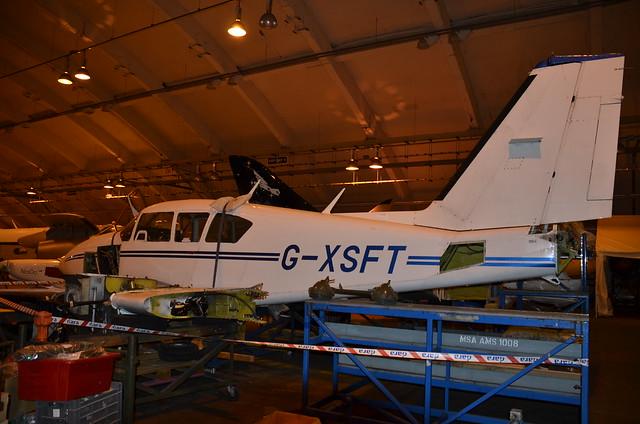G-XSFT Piper PA-23-250 Aztec F