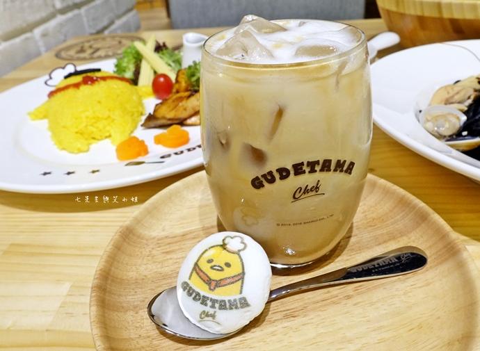 52 Gudetama Chef 蛋黃哥五星主廚餐廳 台北東區美食