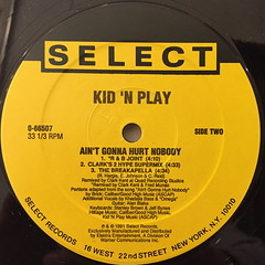 KID 'N PLAY:AIN'T GONNA HURT NOBODY(LABEL SIDE-B)