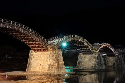 Kintaikyo Bridge at Iwakuni on NOV 23, 2016 (3)