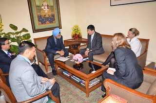 Meeting with Navtej Sarna, Additional Secretary, International Organisation and Political, Ministry of External Affairs | by UNDP in India
