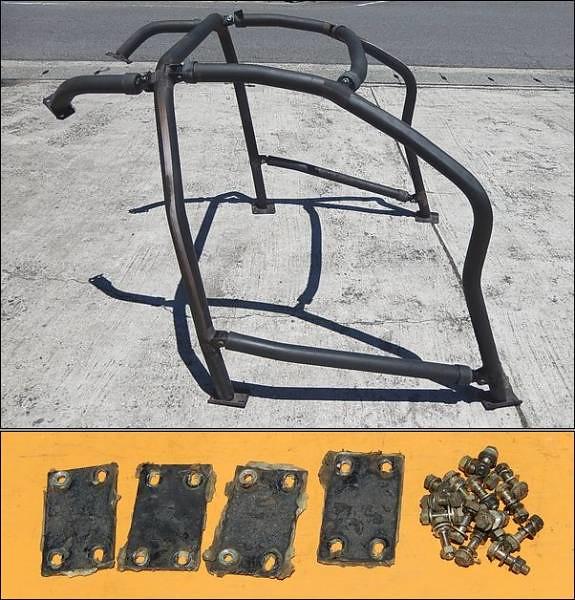 SW20 Border Demo Car Roll Cage