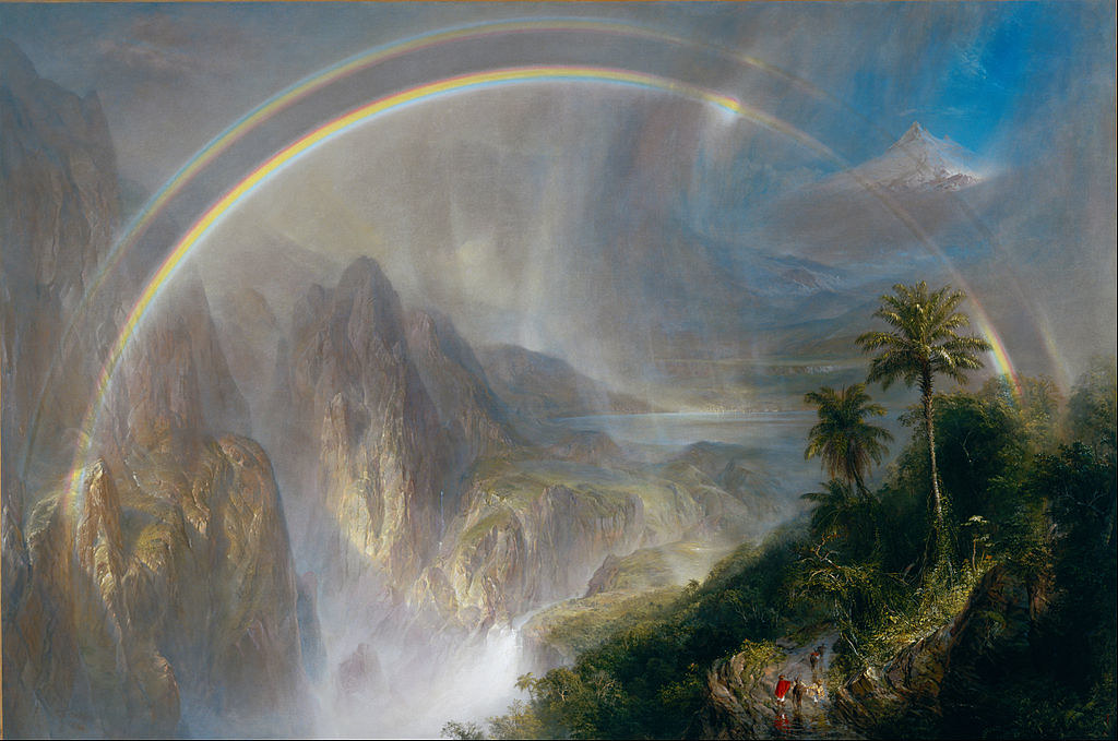 Frederic Edwin Church (1826–1900) Link back to Creator infobox template wikidata:Q366212 Details of artist on Google Art Project Title  Rainy Season in the Tropics wikidata:Q20198471 Object type  Painting Date   1866