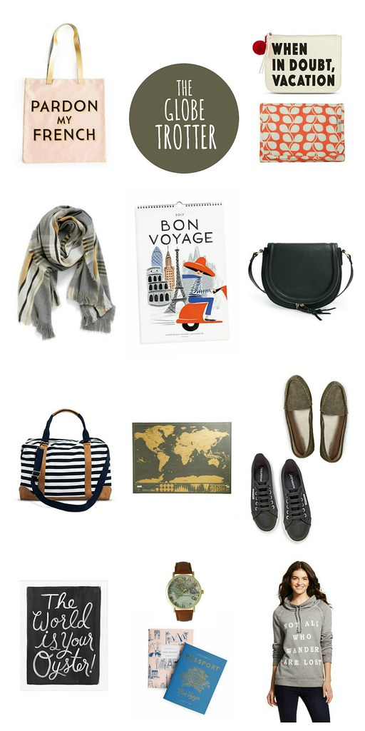 gift guide for the globe trotter 2016 | Style On Target blog