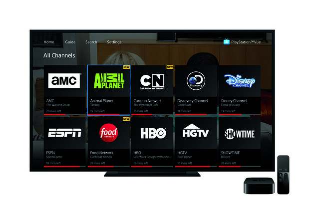 PlayStation Vue Launches on Apple TV Today – PlayStation.Blog