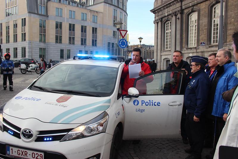 161207 - Manifestations - Police de Liège