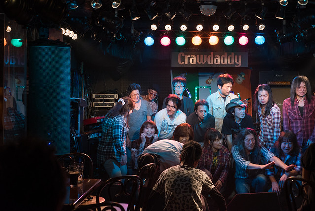 Rory Gallagher Tribute Festival - after the show at Crawdaddy Club, Tokyo, 22 Oct 2016 -00603