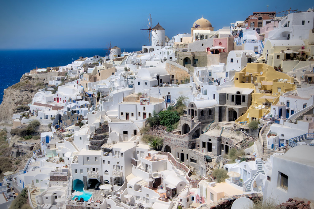 Buildings in Oia